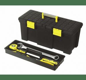 """1-92-766, 767 Ящик для инструмента Stanley """"Classic S.Foam"""" пластмассовый с лотком, 40,6 x 21,5 x 18,4 см и 50,5 x 24,8 x 23,5 см"""