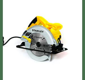 STSC1718 Stanley пила циркулярная 1700 Вт, диаметр диска 185 мм, 5500 об/мин, глубина 62 мм, рез под углом 0-45 град., вес 3.92 кг