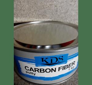 Шпатлівка KDS CARBON FIBER putty чорний 4 кг