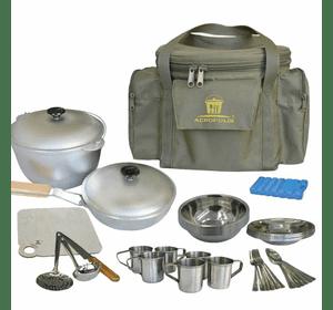 Набір дл я пікніка Acropolis посуд на 6 персон і сумка з термовідділом (СДП-1)