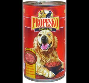 Консерва Propesko курица, паста, морковь, 415г