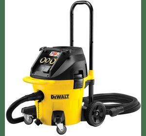 DWV902L DeWALT промышленный пылесос L класса, 1 400 Вт, макс. поток воздуха: 4080 л/мин, бак 38 л, 15 кг