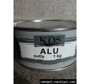 Шпатлёвка автомобильная KDS Alu, 1 кг