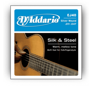 D`ADDARIO EJ40 SILK & STEEL FOLK 11-47