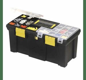 1-93-336 Ящик для инструмента Stanley с 2-мя органайзерами и лотком пластмассовый (20001) 20