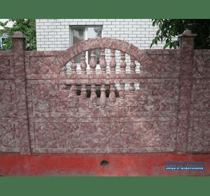 забори бетоні кольорові ковель