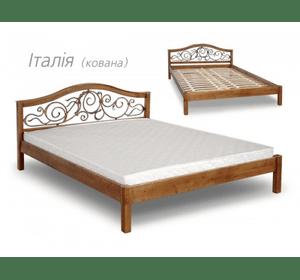 Ліжко Італія з ковкою
