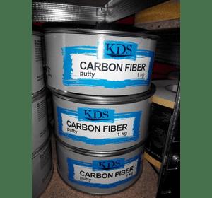 Шпатлівка KDS CARBON FIBER putty чорний 1 кг