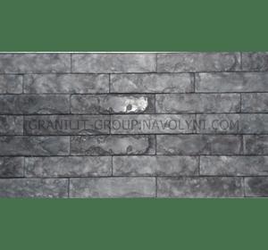 Шліфований камінь Бурий граніт
