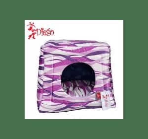 Лежак TM DIEGO Розовая волна
