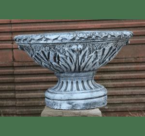 ваза овальна