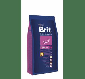 Brit Premium Adult S для взрослых собак маленьких пород (1–10 кг). 3 кг