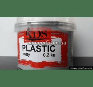 Шпатлёвка автомобильная KDS Plastic 0.2 кг