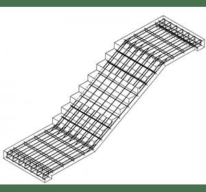 Виготовлення робочих кресленнь сходів
