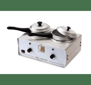 Нагреватель на 2 банки для горячего воска и воска в банках модель 705С