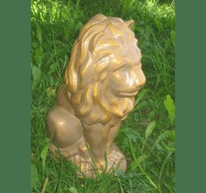 лев сидячий