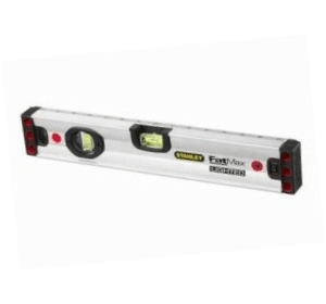 0-43-552 Stanley FatMax® Уровень магнитный с подсветкой, 3 капсулы, 120 см, алюминиевый