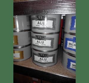 Шпатлівка KDS ALU putty сірий 1 кг
