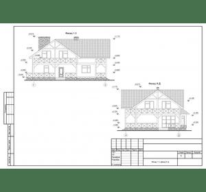 Виготовлення фасаду будинку