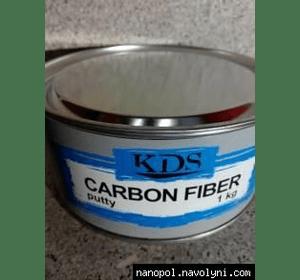 Шпатлёвка автомобильная KDS Carbon fiber, 1 кг