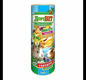 Лорівіт-Делікатес для середніх гризунів, туба 500 г