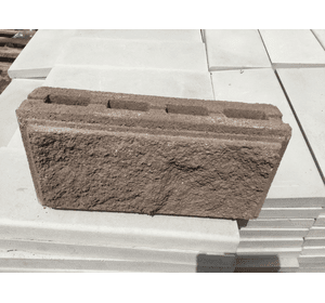 """блоки парканні """"рваний камінь"""""""