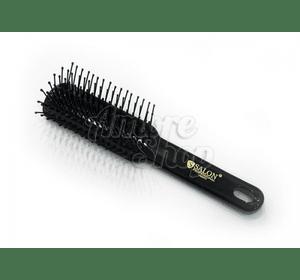 Salon Professional щетка пластиковая 1883TT непродувная с нейлоновой щетиной, прямоугольная прямая малая
