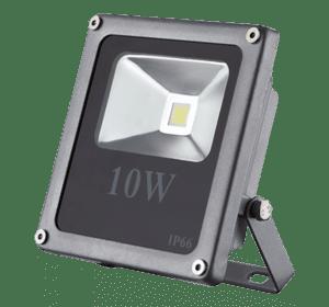LED прожектор 10W-slim