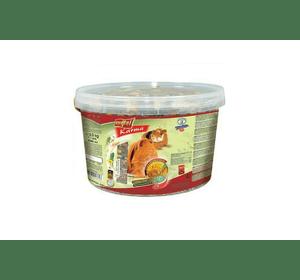 Корм Vitapol полнорационный, для морских свинок, 2.2 кг, ведро 3 л