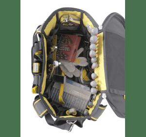 """FMST1-70749 Сумка для инструмента Stanley """"FatMax® Round Top"""" с округлым верхом 18'', литое полипропиленовое дно от грязи и влаги, износостойкая ткань, наплечный ремень, 50x33x31 см"""