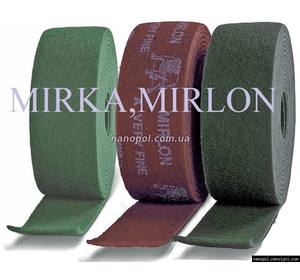 Mirlon, Mirka в рулоне 10 м * 115 мм, P1500 (серый)