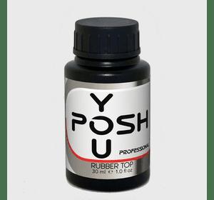 YouPOSH RUBBER TOP - финишное покрытие с липким слоем, 30мл