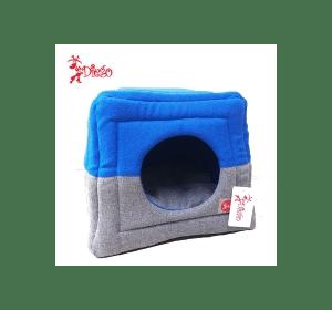 Лежак TM DIEGO сине-серый