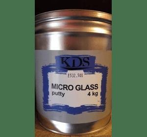 Шпатлівка KDS MICRO GLASS putty зелений 4 кг