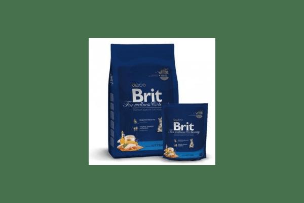Brit Premium Kitten для котят с курицей  Вес :   300 г  800 г  8 кг - NaVolyni.com