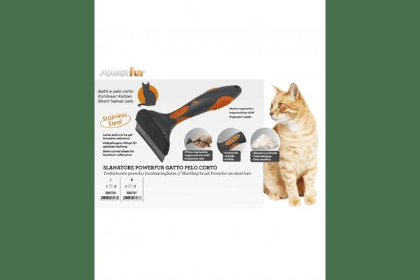Фурминатор POWERfur для котов короткошерстных C6067186 - NaVolyni.com