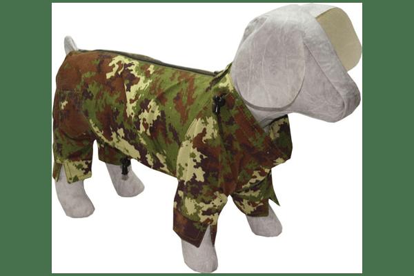 Комбінезон камуфляж – тканина ріп-стоп , застібається на спинці блискавкою. Для прогулянок в лісовій та парковій зоні. Для всіх порід собак. 15 розмірів. - NaVolyni.com