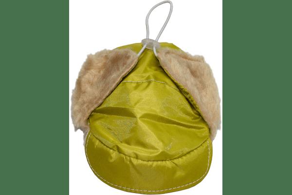 Шапка ушанка з хутром — тканина болон з пропиткою, всередині — штучне хутро, 6 розмірів - NaVolyni.com
