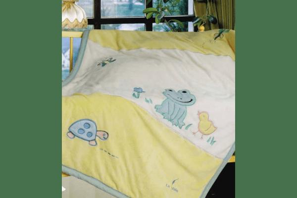 Плед на ліжко Le Vele Frog - NaVolyni.com