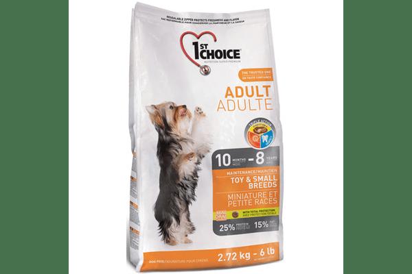 1st Choice (Фест Чойс) с курицей сухой супер премиум корм для взрослых собак мини и малых пород - NaVolyni.com