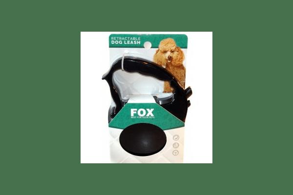 Рулетка Fox фигурная, поводок - лента, 3 м / 20 кг - NaVolyni.com