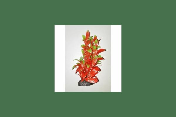 Пластиковое растение для аквариума 3115  red - NaVolyni.com