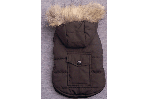 Free Dogs курточка с карманом коричневая S - NaVolyni.com