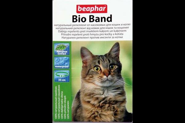 Beaphar Bio band ошейник для кошек и котят - NaVolyni.com
