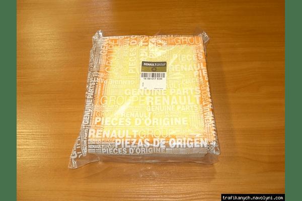 Воздушный фильтр  ORIGINAL  на  1.6dci -  RENAULT TRAFIC / OPEL VIVARO - NaVolyni.com