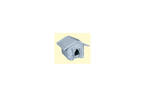 Гранд Шериф - Будка для собак со шторой №5 класс - NaVolyni.com