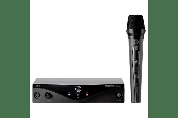 AKG WMS45 Perception Vocal Set (1 ручний мік.) безпровідна вокальна мікрофонна система - NaVolyni.com