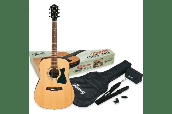 IBANEZ V50NJP NT гітарний набір (+чохол, тюнер, медіатор, ремінь) - NaVolyni.com