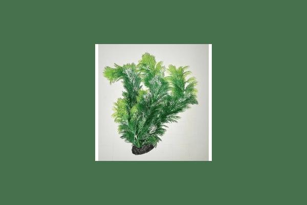 Пластиковое растение для аквариума 3115 green - NaVolyni.com