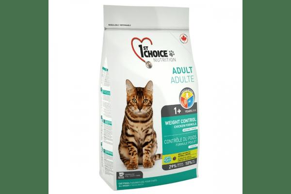 1st Choice (Фест Чойс) КОНТРОЛЬ ВЕСА корм для кастрированных котов - NaVolyni.com